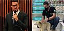 Delegado Matheus Laiola resgatada cachorro que vivia com objeto preso ao pescoço para impedi-lo de fugir.