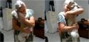 Senhora de 73 anos reencontra seu cão que havia fugido (Foto: Reprodução / A Tribuna)