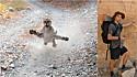 Puma tenta atacar homem durante caminhada em trilha para proteger seus filhotes. (Foto: Reprodução Youtube/Kunkyle z | Instagram/kunkyle)