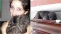 Dona falece e cachorro visita seu túmulo há 4 anos. (Foto: Reprodução Twitter/@Bele_dure)