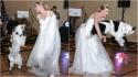 Border collie dança lindamente na festa de casamento da sua dona. (Foto: Arquivo Pessoal/Sara Carson)