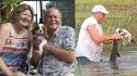 Homem que salvou cachorro da boca de crocodilo na Flórida traz atualizações sobre o caso. (Foto: Jon Austria/Naples Daily News USA TODAY - FLORIDA NETWORK)