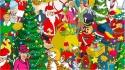 Encontre o corgi da rainha Elizabeth escondido em cenário natalino. (Foto: Yappy)