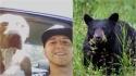 Homem entra em briga com urso de 160 kg para salvar seu cão pit bull de ataque. (Foto: Instagram/kalebbenham | Divulgação Unsplash/Pete Nuij)