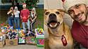 Felipe Becari, ativista da causa animal, doa centenas de brinquedos a cães de abrigo em SP. (Foto: Facebook/@felipebecarisp)