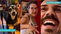 Maria Bica, a cachorrinha, ataca o seu dono com piadas relacionadas as fotos dele mais novo, expostas na casa de sua mãe.