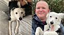James Cosens passeava com a sua cachorra Rosie na Reserva Natural Morfa Berwig, em Llanelli, Carmarthenshire, País de Gales, quando foi ameaçado por dois ladrões.