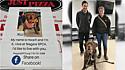 Com a parceria do abrigo de animais Niagara SPCA e da pizzaria Just Pizza & Wing, o cão Hooch encontrou o seu lar.