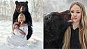 Jovem adota e faz lindo ensaio fotográfico com urso.