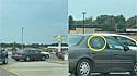 Mulher flagrou vaca dentro do carro em drive-thru do McDonalds.