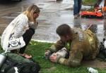 Bombeiro faz respiração boca a boca e salva vida de cão vítima de incêndio