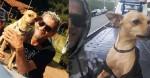 Trabalhador do bairro Bom Retiro, em São Paulo, pede ajuda para encontrar seu cão Costelinha