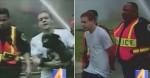 Rapaz é preso após desobedecer bombeiros e entrar em casa em chamas para salvar cão (veja o vídeo)