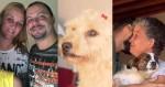 Cães de família carbonizada da Grande ABC ganham novo lar (veja o vídeo)