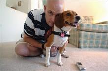 Cão treinado salva vida de seu dono diabético