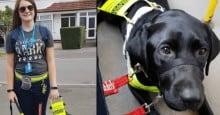 Mulher cega sofre preconceito em ônibus por seu cão-guia ser preto