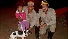 Latido de cão ajuda bombeiros a encontrar menina em mata de Goiás