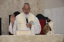Gatinho Junior adora participar de missas de Igreja que o adotou em Atibaia-SP