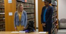 Cachorra presta juramento em procuradoria para assumir cargo super importante - veja fotos