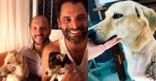Casal encantador e cheio de amor aos animais, adota Mel, a cachorrinha que colecionava sofrimento