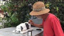 Lupe, o cãozinho que não abandonou seu dono nem mesmo depois da morte
