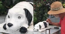 Cãozinho que sempre visitava túmulo de dono ganha homenagem em Nova Friburgo (RJ)