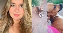 Adolescente bondosa leva cãozinho abandonado para casa e recebe resposta de mãe (veja o vídeo)
