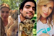 Luisa Mell repreende Caio Castro e Grazi por 'promover' parque que 'maltrata animais'