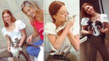 Projeto pró-animais de Luisa Mell conta com apoio da atriz Marina Ruy Barbosa (veja o vídeo)