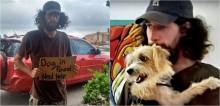 Homem sem-teto pede ajuda para resgatar o seu cão e mulher decide ajudá-lo, dando a eles a chance de ficarem juntos