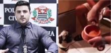 Delegado Bruno Lima fica indignado com vídeo de homens dando bebida alcoólica para cão pug: 'Pagarão por isso'
