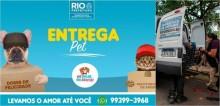 Rio de Janeiro lança o programa delivery para incentivar adoção de cães e gatos de abrigo