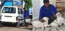 Homem guardou dinheiro por 10 anos para comprar ambulância para ajudar animais de rua; confira