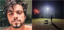 Após perder seu cão, ator Rodrigo Simas o homenageia em rede social: 'Ter animal não é só curtição'