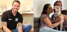 Pit bulls resgatados pela equipe do delegado Matheus Laiola são adotados por família de SP; vídeo