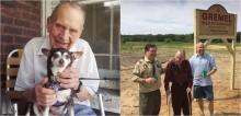 Idoso de 98 anos usa as suas economias para abrir um santuário para animais