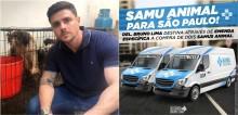Delegado Bruno Lima anuncia aquisição de ambulâncias para animais através de verba parlamentar