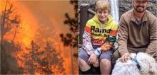 Corpo de menino de 12 anos e do seu cachorro são encontrados lado a lado em incêndio florestal