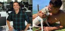 Leo Dias publica desabafo após condomínio proibir livre circulação de sua cachorrinha