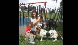 Passeadora de cães é flagrada agredindo cachorro de cliente