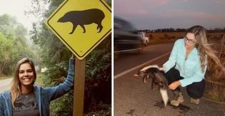 Brasileira se torna reconhecida mundialmente por prevenção de atropelamento de animais em rodovias