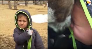 Mãe faz surpresa para filho que perdeu seu amigo canino e criança vai aos prantos