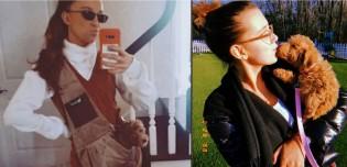 Atriz Millie Bobby Brown chama atenção por carregar seu pet em bolsa