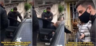 Delegado Bruno Lima confronta agressor de cães: 'Covarde a gente trata assim!' (confira o vídeo)