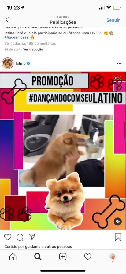 Foto: Instagram / latino