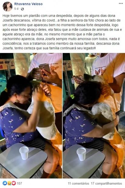 Foto: Facebook / Rhavenna Veloso