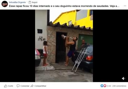 Foto: Reprodução Facebook / Inhoaiba Urgente