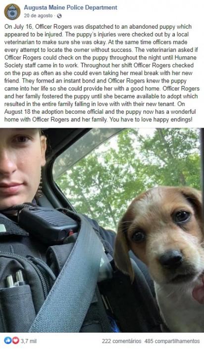 Foto: Facebook / Augusta Maine Police Department