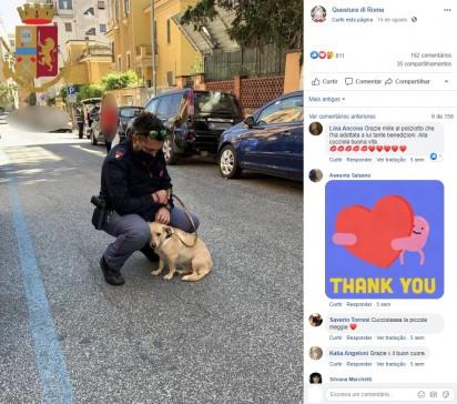Foto: Facebook / Questura di Roma