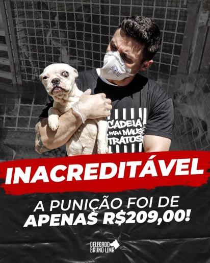 Foto: Facebook / Delegado Bruno Lima